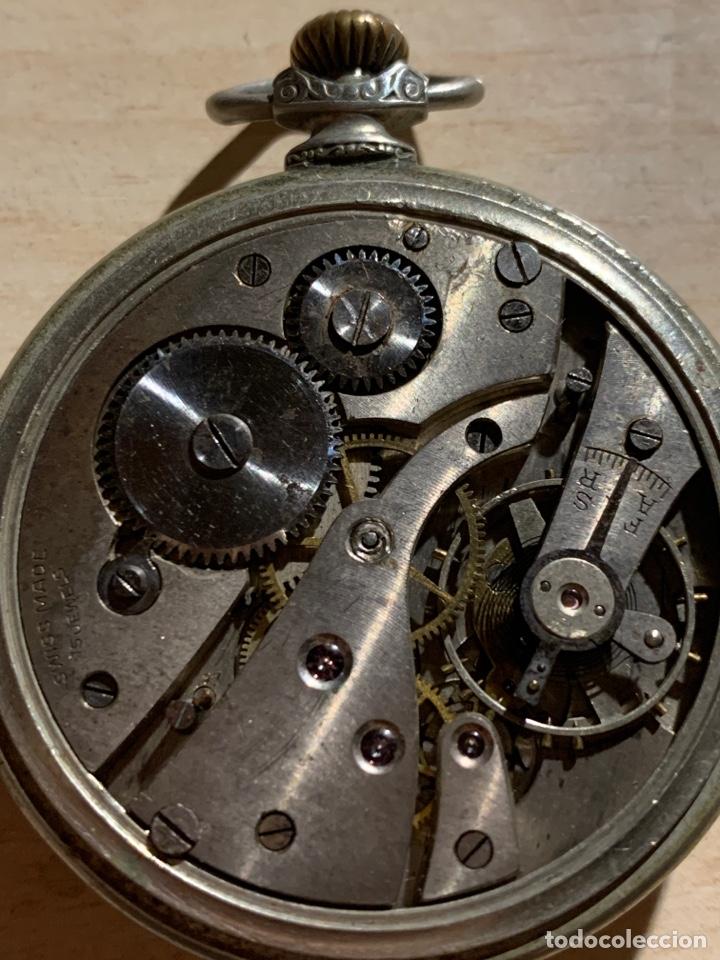 Relojes de bolsillo: Antiguo reloj de bolsillo Art-Decó Kienze - Foto 5 - 182169735