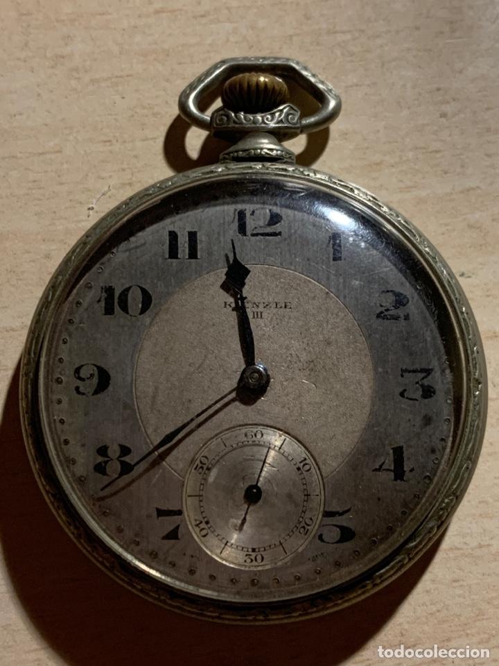 ANTIGUO RELOJ DE BOLSILLO ART-DECÓ KIENZE (Relojes - Bolsillo Carga Manual)