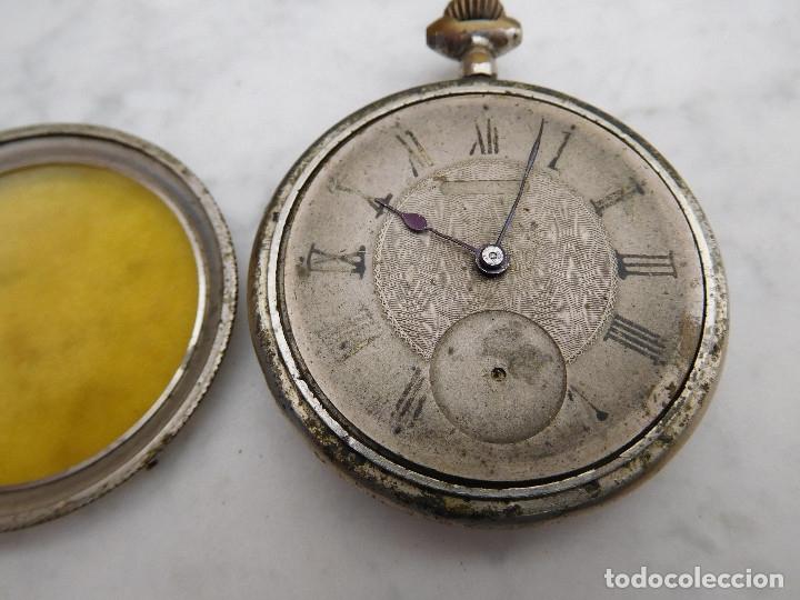 Relojes de bolsillo: Reloj de bolsillo año 1920 aprox. - Foto 11 - 182178780