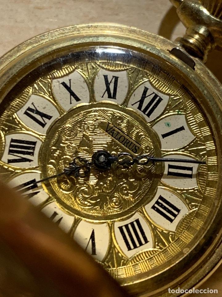 Relojes de bolsillo: Bonito reloj de bolsillo de señora de 3 tapas. Funciona - Foto 4 - 182290752