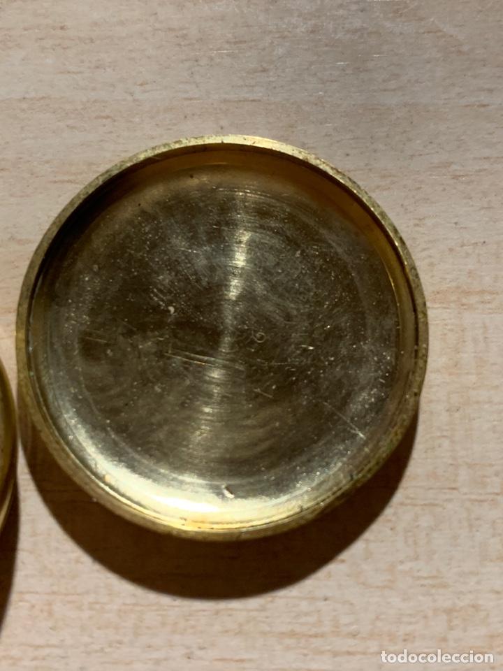 Relojes de bolsillo: Bonito reloj de bolsillo de señora de 3 tapas. Funciona - Foto 6 - 182290752