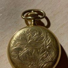 Relojes de bolsillo: BONITO RELOJ DE BOLSILLO DE SEÑORA DE 3 TAPAS. FUNCIONA. Lote 182290752