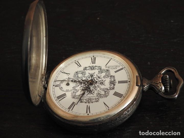 Relojes de bolsillo: RELOJ THERMIDOR DE BOLSILLO 17 RUBIS - Foto 10 - 182431652
