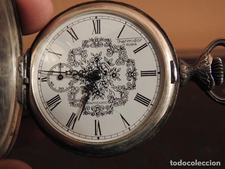 Relojes de bolsillo: RELOJ THERMIDOR DE BOLSILLO 17 RUBIS - Foto 11 - 182431652