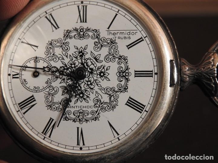 Relojes de bolsillo: RELOJ THERMIDOR DE BOLSILLO 17 RUBIS - Foto 12 - 182431652