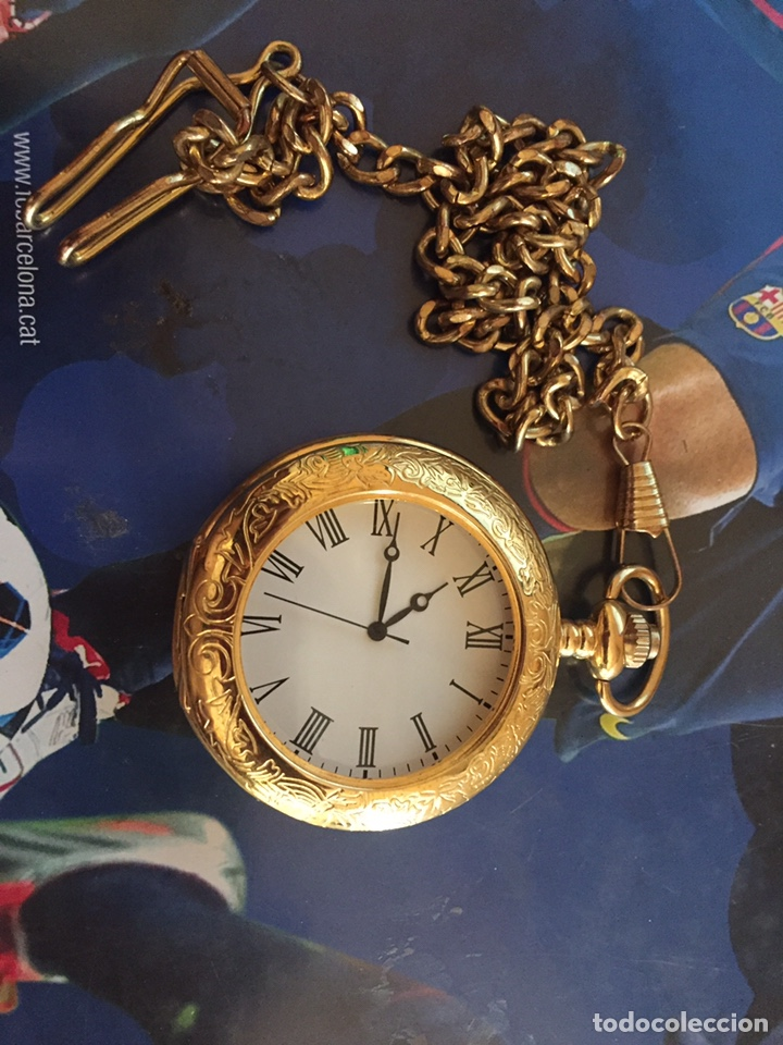 RELOJ CON CADENA (Relojes - Bolsillo Carga Manual)
