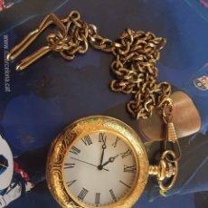 Relojes de bolsillo: RELOJ CON CADENA. Lote 182667280
