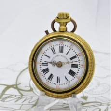 Relojes de bolsillo: SYSTIME ROSKPOF-PRECIOSO RELOJ DE BOLSILLO-SUIZO-CIRCA 1900-1910 -FUNCIONANDO. Lote 182677296