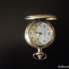 Relojes de bolsillo: RELOJ DE BOLSILLO MARCA SCHARZ.MUY ORIGINAL. Lote 182810111