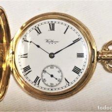 Relojes de bolsillo: RELOJ DE BOLSILLO WALTHAM 18K. Lote 182858113