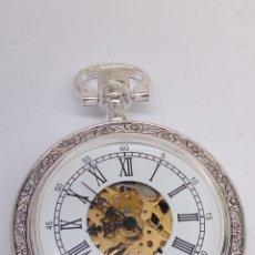 Relojes de bolsillo: RELOJ DE BOLSILLO CARGA MANUAL. Lote 182894545