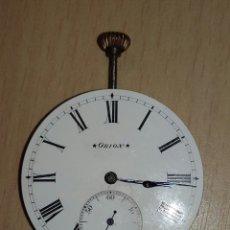 Relojes de bolsillo: MAQUINA RELOJ DE BOLSILLO ORION. Lote 183023128