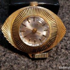 Relojes de bolsillo: RELOJ COLGANTE LOTUS TOPTIME, EN METAL DORADO. MEDIDA 4 X 3 CMS.. Lote 40907717