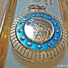 Relojes de bolsillo: PRECIOSO RELOJ DE BOLSILLO ESTRELLAS.. Lote 183194842