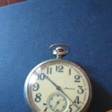Relojes de bolsillo: RELOJ DE BOLSILLO MOLNIJA CAJA DE BARCO. Lote 183465240