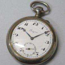 Relojes de bolsillo: ANTIGUO RELOJ DE BOLSILLO. LONGINES. FUNCIONA. Lote 183480201