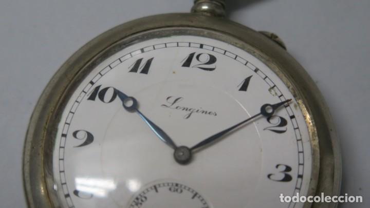 Relojes de bolsillo: ANTIGUO RELOJ DE BOLSILLO. LONGINES. FUNCIONA - Foto 2 - 183480201