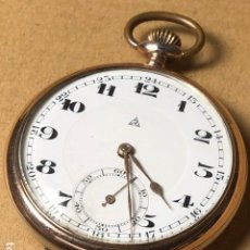 Relojes de bolsillo: RELOJ DE BOLSILLO ALPINA DE PLATA.. Lote 121393099