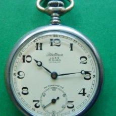 Relojes de bolsillo: RELOJ DE BOLSILLO BLATTINA. Lote 183605342