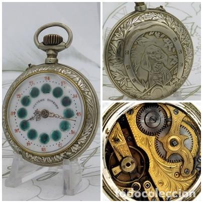 SYSTEME ROSKOPF-PRECIOSO RELOJ DE BOLSILLO-CIRCA 1900-FUNCIONANDO (Relojes - Bolsillo Carga Manual)