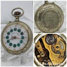 Relojes de bolsillo: SYSTEME ROSKOPF-PRECIOSO RELOJ DE BOLSILLO-CIRCA 1900-FUNCIONANDO. Lote 183619656