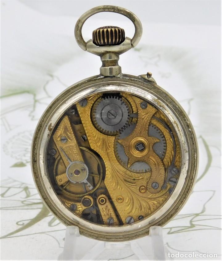 Relojes de bolsillo: SYSTEME ROSKOPF-PRECIOSO RELOJ DE BOLSILLO-CIRCA 1900-FUNCIONANDO - Foto 4 - 183619656