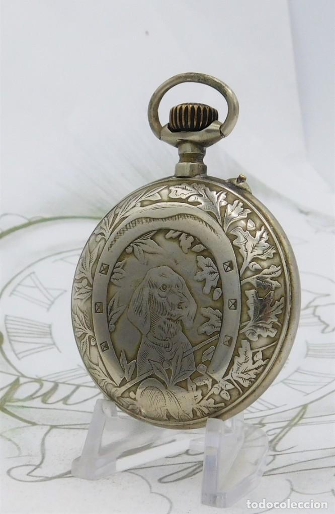 Relojes de bolsillo: SYSTEME ROSKOPF-PRECIOSO RELOJ DE BOLSILLO-CIRCA 1900-FUNCIONANDO - Foto 6 - 183619656