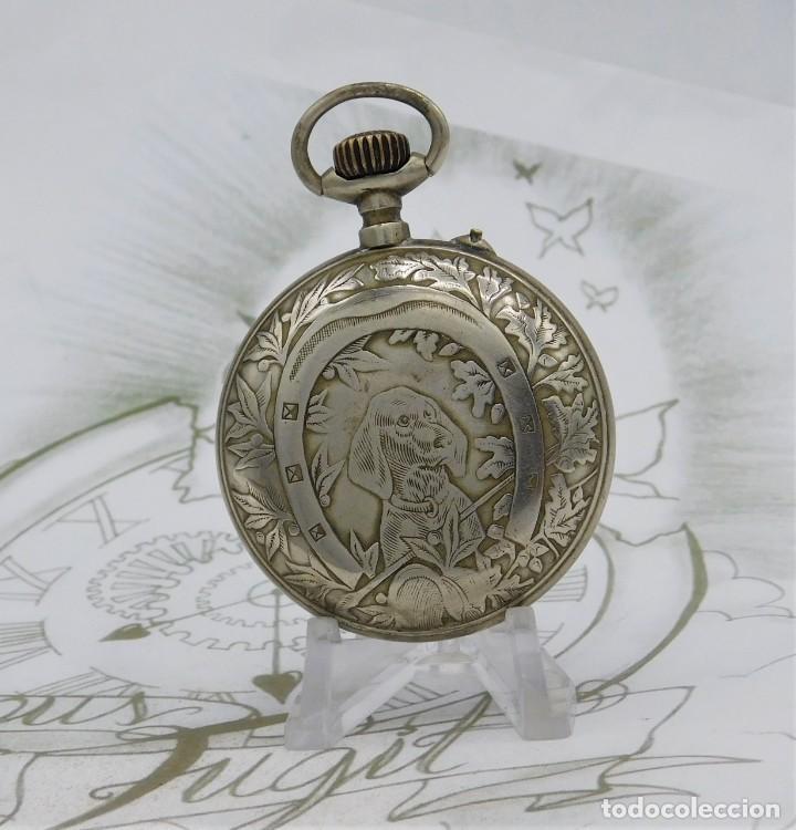 Relojes de bolsillo: SYSTEME ROSKOPF-PRECIOSO RELOJ DE BOLSILLO-CIRCA 1900-FUNCIONANDO - Foto 8 - 183619656