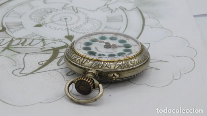 Relojes de bolsillo: SYSTEME ROSKOPF-PRECIOSO RELOJ DE BOLSILLO-CIRCA 1900-FUNCIONANDO - Foto 9 - 183619656