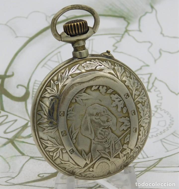 Relojes de bolsillo: SYSTEME ROSKOPF-PRECIOSO RELOJ DE BOLSILLO-CIRCA 1900-FUNCIONANDO - Foto 11 - 183619656
