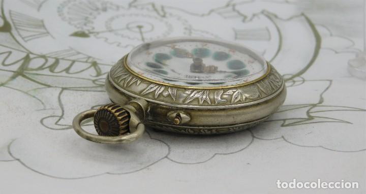 Relojes de bolsillo: SYSTEME ROSKOPF-PRECIOSO RELOJ DE BOLSILLO-CIRCA 1900-FUNCIONANDO - Foto 12 - 183619656