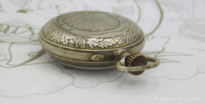 Relojes de bolsillo: SYSTEME ROSKOPF-PRECIOSO RELOJ DE BOLSILLO-CIRCA 1900-FUNCIONANDO - Foto 13 - 183619656