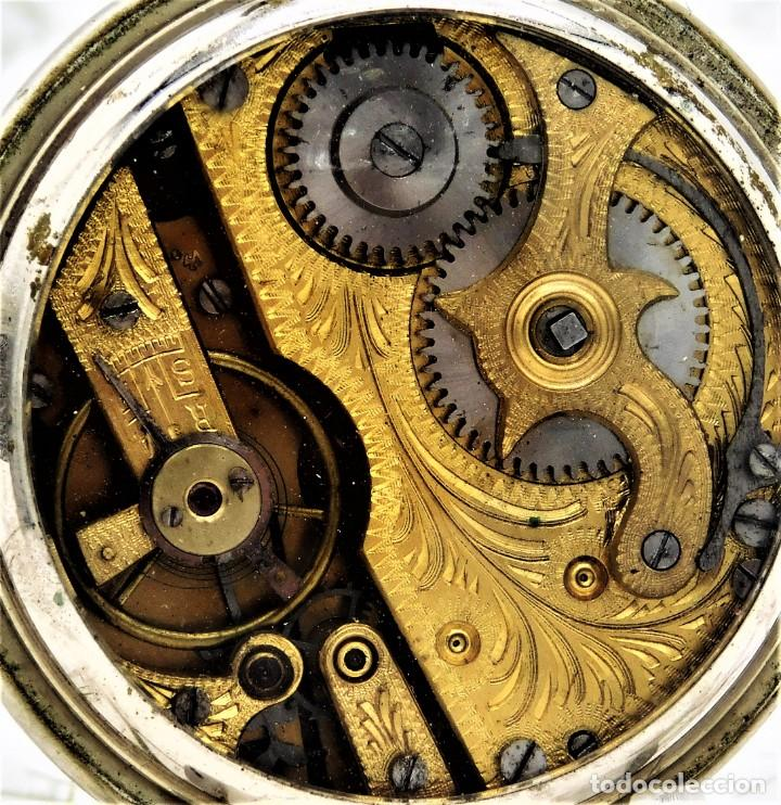 Relojes de bolsillo: SYSTEME ROSKOPF-PRECIOSO RELOJ DE BOLSILLO-CIRCA 1900-FUNCIONANDO - Foto 14 - 183619656