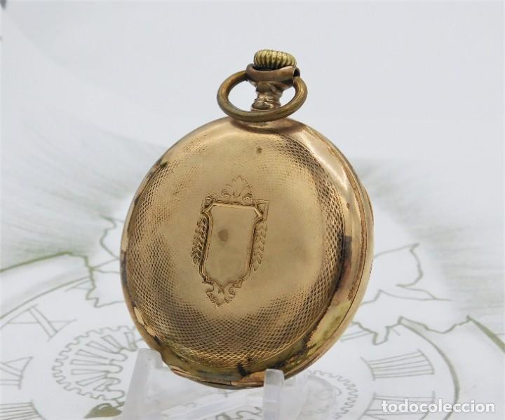 Relojes de bolsillo: VIKING-CORTEBERT-RELOJ DE BOLSILLO-SUIZA-CON LEONTINA-CIRCA 1920-1930 -FUNCIONANDO - Foto 4 - 183799480