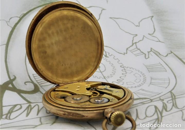 Relojes de bolsillo: VIKING-CORTEBERT-RELOJ DE BOLSILLO-SUIZA-CON LEONTINA-CIRCA 1920-1930 -FUNCIONANDO - Foto 5 - 183799480
