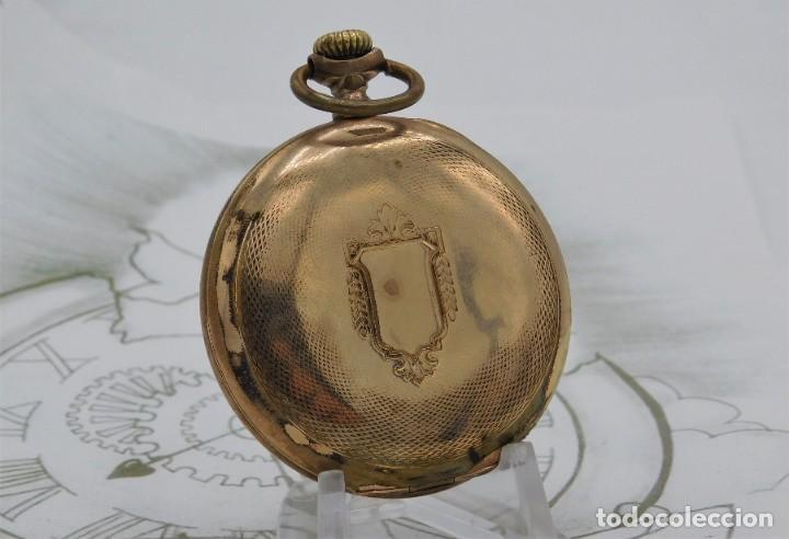 Relojes de bolsillo: VIKING-CORTEBERT-RELOJ DE BOLSILLO-SUIZA-CON LEONTINA-CIRCA 1920-1930 -FUNCIONANDO - Foto 12 - 183799480