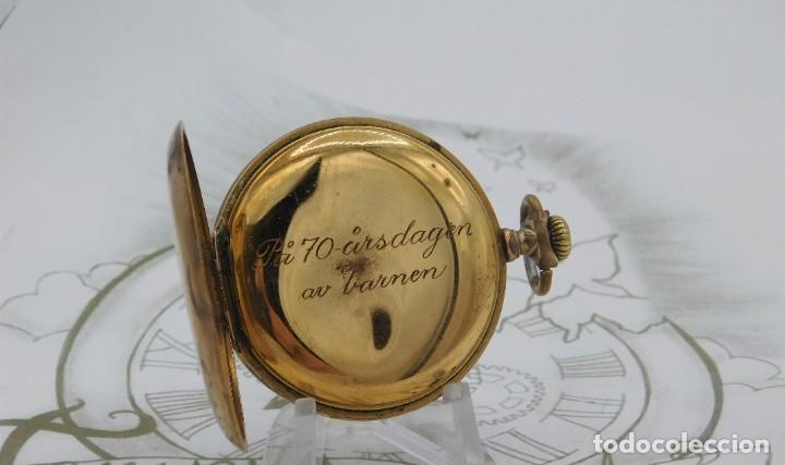 Relojes de bolsillo: VIKING-CORTEBERT-RELOJ DE BOLSILLO-SUIZA-CON LEONTINA-CIRCA 1920-1930 -FUNCIONANDO - Foto 14 - 183799480