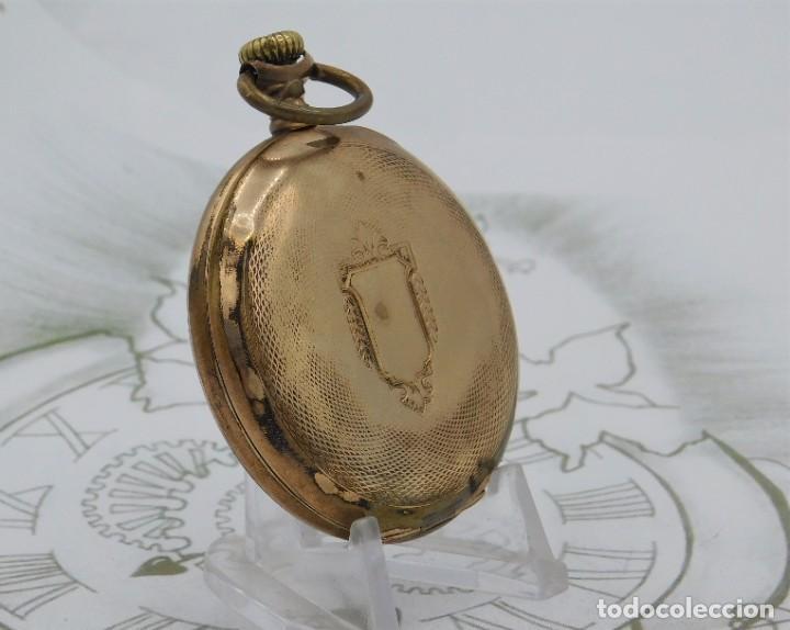 Relojes de bolsillo: VIKING-CORTEBERT-RELOJ DE BOLSILLO-SUIZA-CON LEONTINA-CIRCA 1920-1930 -FUNCIONANDO - Foto 15 - 183799480