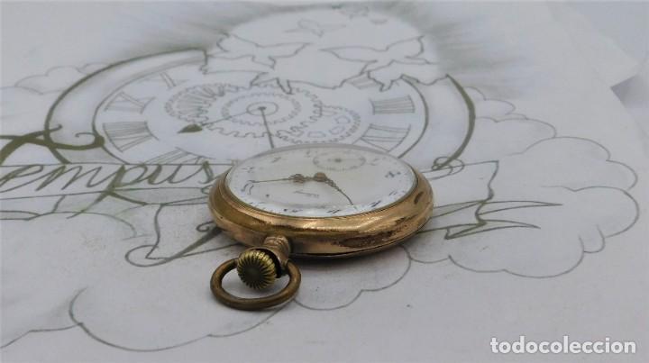 Relojes de bolsillo: VIKING-CORTEBERT-RELOJ DE BOLSILLO-SUIZA-CON LEONTINA-CIRCA 1920-1930 -FUNCIONANDO - Foto 18 - 183799480