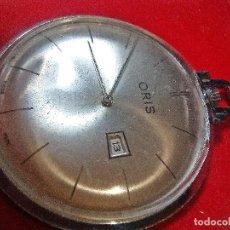 Relojes de bolsillo: RELOJ ORIS BOLSILLO. Lote 183855166