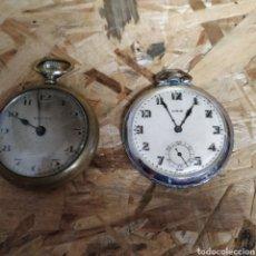 Relojes de bolsillo: 2 RELOJES DE BOLSILLO. Lote 184027912