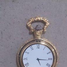 Relojes de bolsillo: RELOJ DE BOLSILLO QUARTZ. (CAMBIAR PILA) (FALTA CRISTAL). Lote 184144462