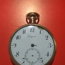 Relojes de bolsillo: LONGINES RELOJ BOLSILLO. Lote 184171496