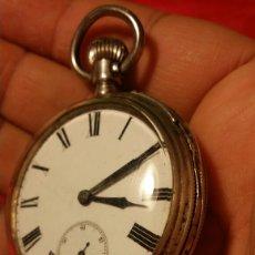 Relojes de bolsillo: ANTIGUO RELOJ DE BOLSILLO REMONTOIR 15 RUBIS. Lote 184173361