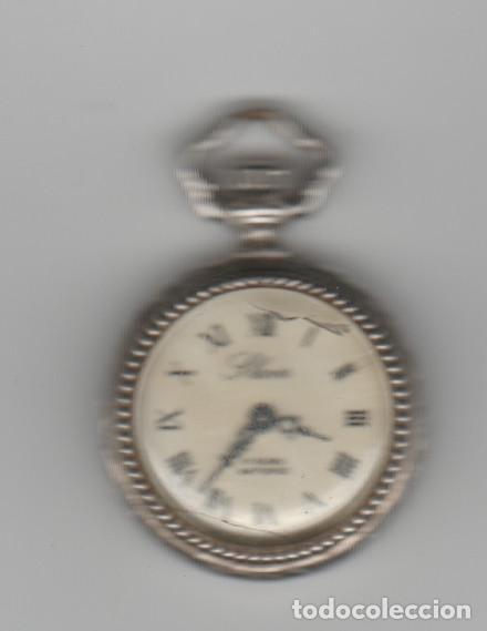 Relojes de bolsillo: ANTIGUO RELOJ SLAVA-17 RUBIS-ANTICHOC-FUNCIONA - Foto 2 - 184190453