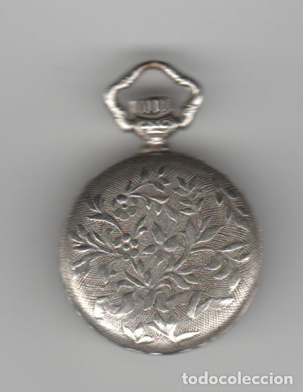 Relojes de bolsillo: ANTIGUO RELOJ SLAVA-17 RUBIS-ANTICHOC-FUNCIONA - Foto 3 - 184190453