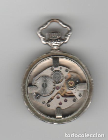 Relojes de bolsillo: ANTIGUO RELOJ SLAVA-17 RUBIS-ANTICHOC-FUNCIONA - Foto 4 - 184190453