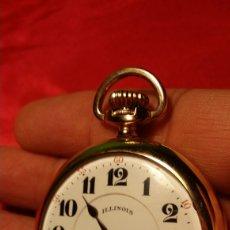 Relojes de bolsillo: ANTIGUO RELOJ ILLINOIS WATCH CO SPRINGFIELD USA. Lote 184200522