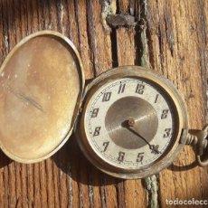 Relojes de bolsillo: RELOJ REMONTOIR ANCRE DE PRECISIÓN. 3 TAPAS. NO FUNCIONA.. Lote 184206292