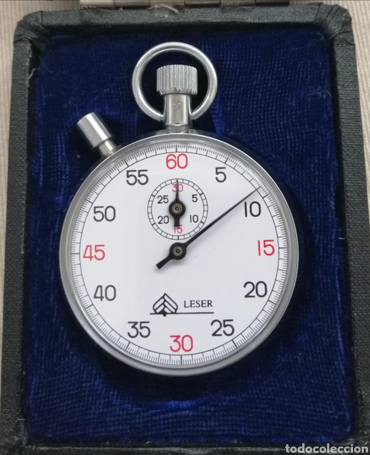 Relojes de bolsillo: Antiguo Cronómetro Cuerda Manual. - Foto 2 - 184253617